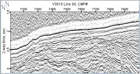 Multi-Channel Seismic Reflection Data